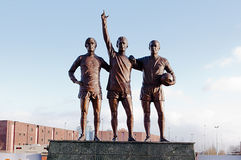 MANCHESTER, ENGLAND : Old Trafford stadium Royalty Free Stock Images
