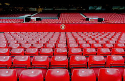 MANCHESTER, ENGLAND : Old Trafford stadium. On December 26th, 2014 in Manchester, England. Old Trafford is home to Manchester United football club one of the Stock Photography