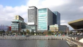 MediaCityUK stock footage