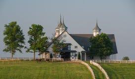 Manchester Farm in Lexington Kentucky at sunrise Stock Image