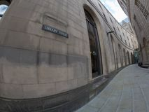 Manchester gataplats arkivbilder