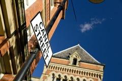 Manchester, Groter Manchester, het UK, Oktober 2013, Canal Street in het vrolijke dorp van Manchesters royalty-vrije stock afbeeldingen