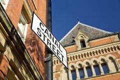 Manchester, Groter Manchester, het UK, Oktober 2013, Canal Street in het vrolijke dorp van Manchesters royalty-vrije stock foto's