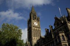 Manchester, Groter Manchester, het UK, Oktober 2013, het Stadhuis van Manchester stock fotografie