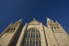 Manchester, Groter Manchester, het UK, Oktober 2013, Whitworth-de Bouw, Universiteit van Manchester royalty-vrije stock afbeeldingen