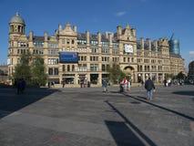 Manchester havreutbyte Arkivbilder