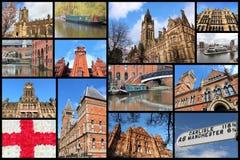 Manchester, het UK Royalty-vrije Stock Foto's