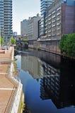 Manchester - het UK - Bezinningen Royalty-vrije Stock Fotografie