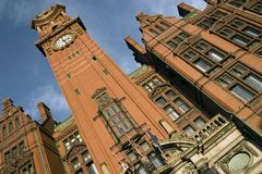 Manchester hotelu palace Fotografia Royalty Free
