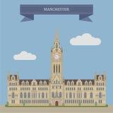 Manchester, Inglaterra ilustración del vector