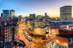 Manchester Inglaterra Fotografía de archivo libre de regalías