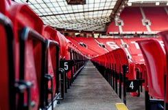 MANCHESTER, INGLATERRA: Estadio viejo de Trafford Imagen de archivo