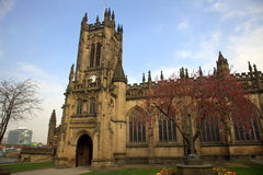 Manchester-Kathedrale Stockfoto