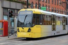 Manchester kollektivtrafik Royaltyfri Bild