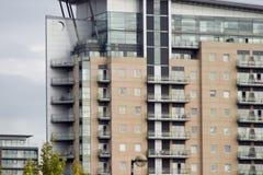 Manchester lägenheter Royaltyfria Bilder