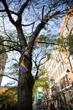 Manchester, mayor Manchester, Reino Unido, octubre de 2013, Canal Street en el pueblo gay de Manchesters imagenes de archivo