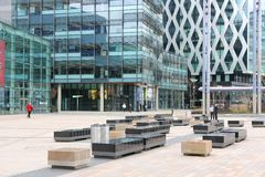 Manchester MediaCity Stock Photos