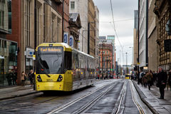 Manchester Metrolink Royalty Free Stock Photo