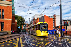 Manchester Metrolink Royalty Free Stock Photography