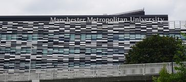 Manchester Metropolitan University. MANCHESTER, ENGLAND -Established in 1970 as Manchester Polytechnic, Manchester Metropolitan University (MMU or ManMet) is a Stock Image