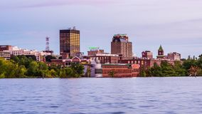 Manchester, New Hampshire stock video footage