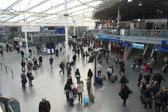 Manchester Piccadilly Train Station Royalty Free Stock Images