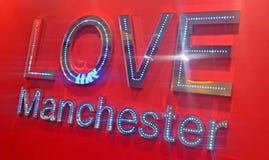 Manchester que brilla Imagen de archivo libre de regalías
