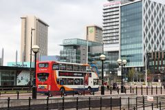 Manchester R-U Images libres de droits