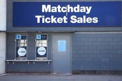 Manchester, Regno Unito - 4 maggio 2017: Biglietterie allo stadio di football americano di Manchester City Immagini Stock