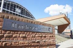 Manchester, Regno Unito - 4 maggio 2017: Esterno del complesso centrale di convenzione di Manchester fotografia stock