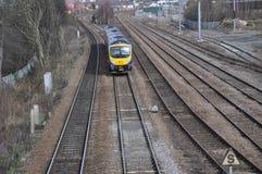 Manchester-Schienenweise Stockfoto