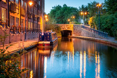 Manchester Ship Canal -England UK Royalty Free Stock Image