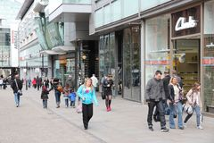 Manchester shopping Royaltyfri Bild
