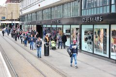 Manchester shopping Stock Photography