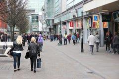 Manchester shopping Stock Photos