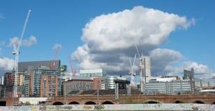 Manchester Skyline Stock Image