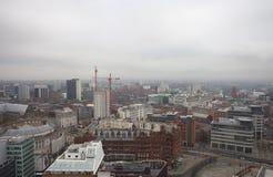 Manchester skyline Royalty Free Stock Photo