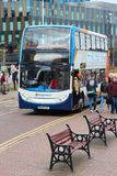 Manchester Stagecoach bus Royalty Free Stock Photo