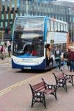 Manchester-Stagecoachbus Lizenzfreies Stockfoto