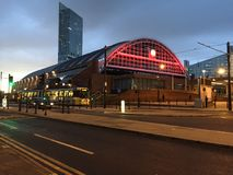 Manchester station Royalty Free Stock Image