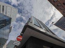 Manchester-Straßenbild stockfoto