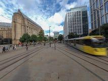 Manchester-Straßenbild stockbild