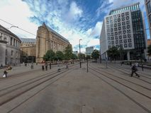 Manchester-Straßenbild lizenzfreie stockfotografie