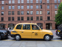 Manchester taxi Royaltyfri Fotografi
