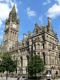 Manchester Town Hall. Manchester, UK Royalty Free Stock Photo