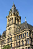 Manchester town hall. City hall in Manchester, Great Britain Stock Photo