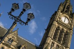 Manchester Town Hall, England Royalty Free Stock Photo