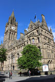 Manchester Town Hall in Manchester city centre Royalty Free Stock Image