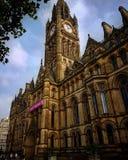 Manchester Town Hall. Mcr Stock Photos