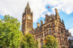 Manchester Town Hall Stock Images